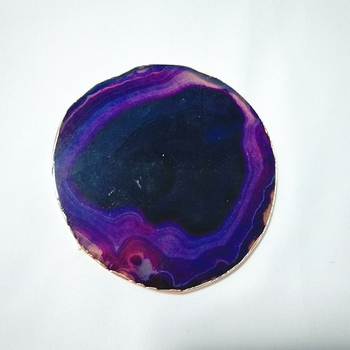 Factory direct supplier 7 chakra orgone coaster set sets