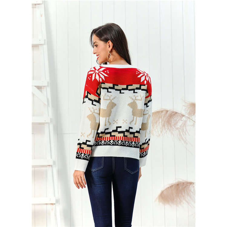 cikini Hot sale autumn pullover knitted sweater women clothes