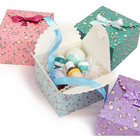 Decorative Gifts Cupcake Gift Boxes Foldable Decorative Cupcake Party Favors Bridesmaid Gifts Small Cardboard Boxes