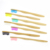 Custom Color Eco Friendly Travel Natural Bamboo Toothbrush