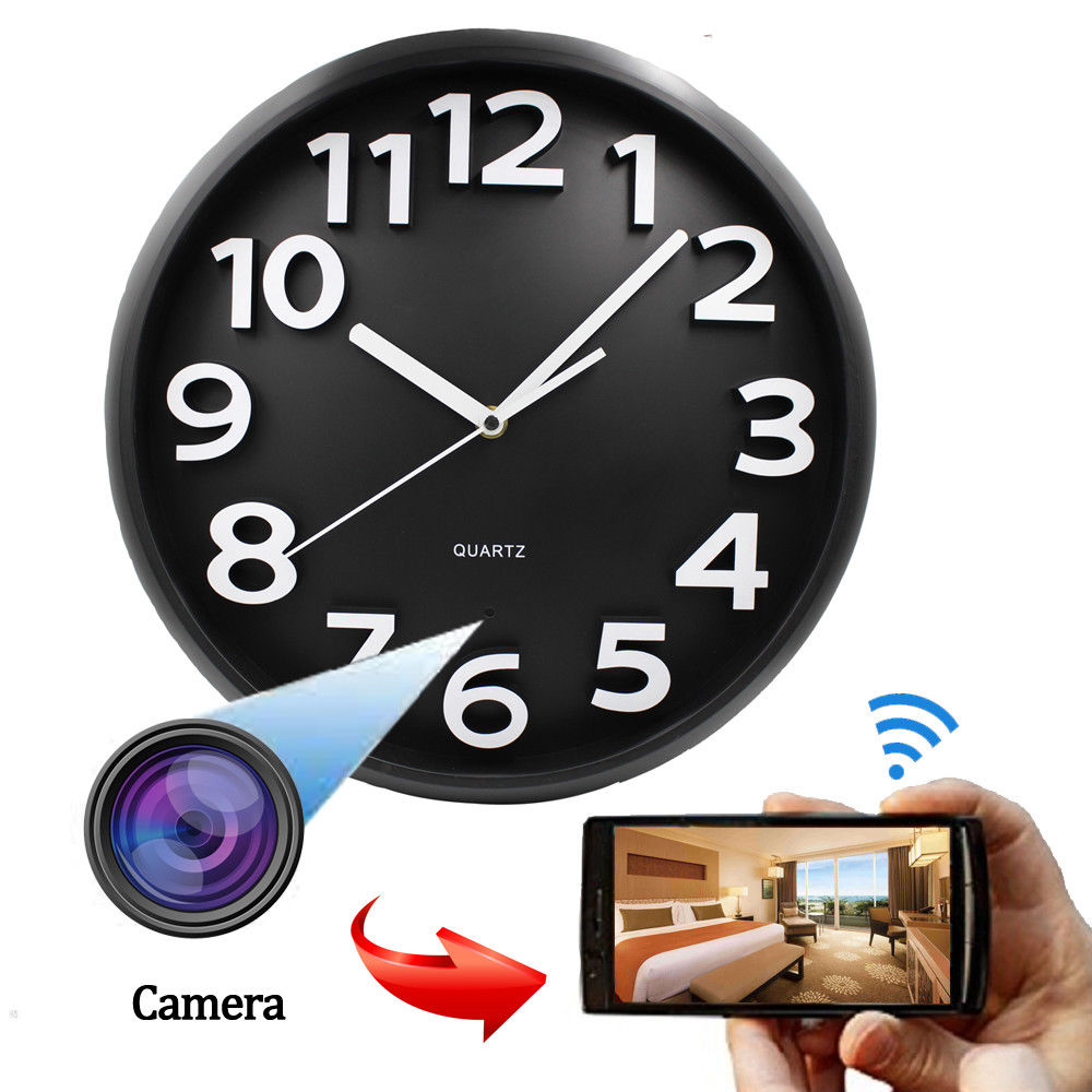 <strong>Wifi</strong> Wall Clock Camera <strong>Wifi</strong> Hidden Camera Alarm Clock Motion Detection SPY hidden Wall Clock Camera with <strong>wifi</strong> recording 24 hours