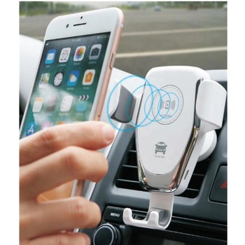 2020 best selling items meest populaire auto lucht vent smartphone qi standaard draadloos opladen oplader pad 2 in 1