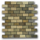 In Tiles High Standard In Quality Exterior Strip Mosaic Tiles Stone Brick Panels For Walls