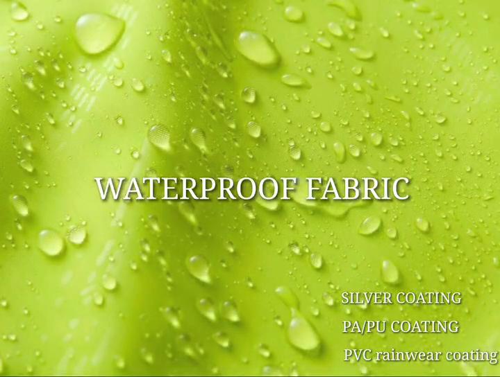 Color de neón tela impermeable TPU PUL recubierto de PVC impermeable de tela transparente stocklot