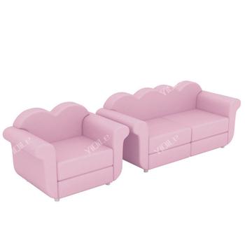 Lovely Double Mini Sofas For Kids