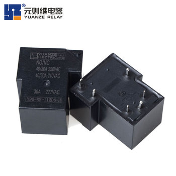 AC Contactor 0.9W Yuanze Y90-SH-112D Power Relay For Industrial Control
