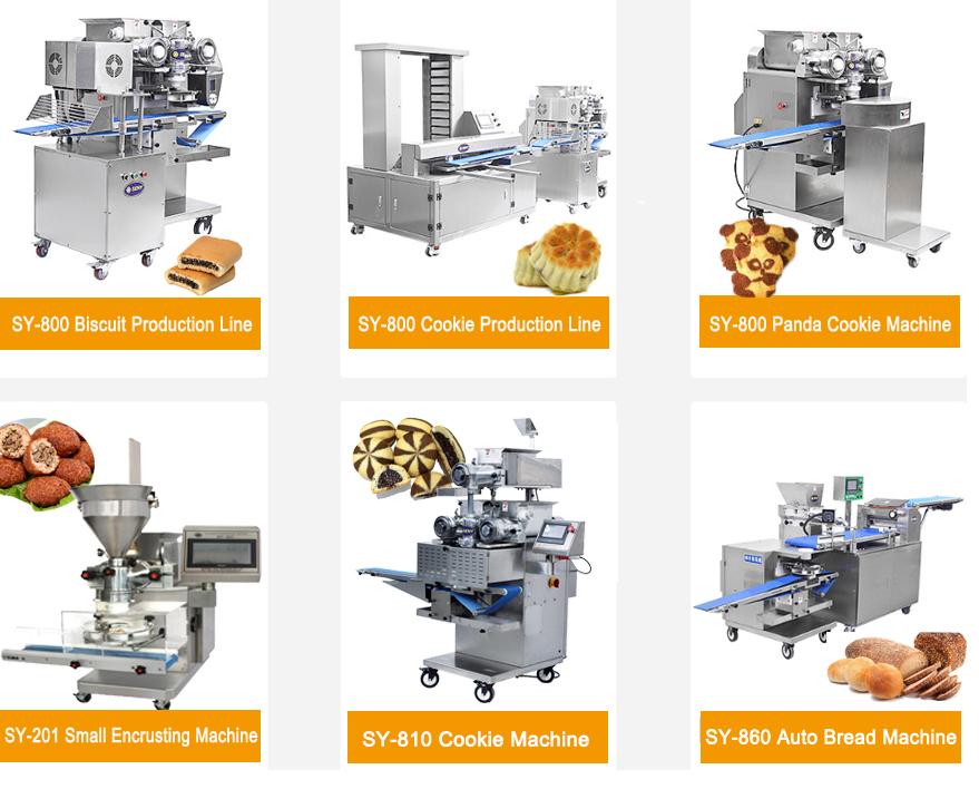 Volledig Automatische Compleet Zachte Biscuit En Cookie Making Machine Biscuit Productielijn