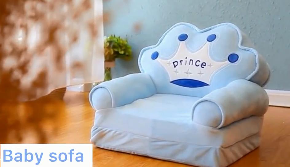 Nuovo pieghevole del fumetto dei bambini divano multi-funzione di sicurezza del bambino sgabello sgabello di scuola materna per bambini divano