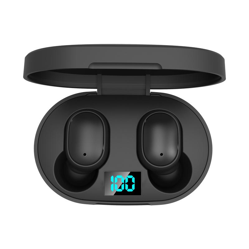 2020 Amazon Top Seller Wireless Earphone Bluetooth 5.0 TWS Earbuds LED Display Power Bank Headset Microphone Bluetooth Earphone