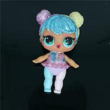 1 шт., оригинальные куклы «LOLs», 8 см, маленькие блестящие куклы-сюрпризы, одежда, Ограниченная Коллекция, подарок на день рождения для девочек(Китай)