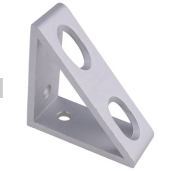 Toshine Aluminium Profile Accessories Aluminium Material 90 Degree Corner Angle Bracket