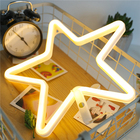 Outdoor or Indoor Star And Moon Led Light Ramadan Eid Decoration