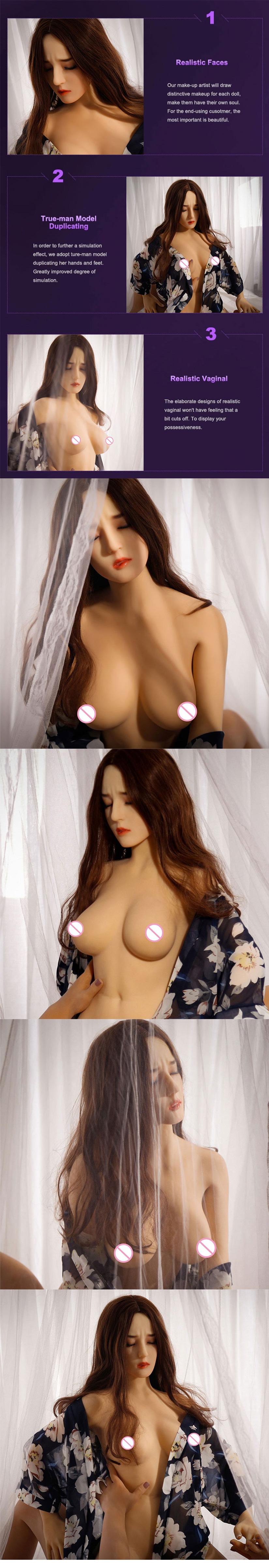 165cm Weiche haut Günstige erwachsene sex puppen große brust sexpuppe tpe silikon echte puppe für männer sex