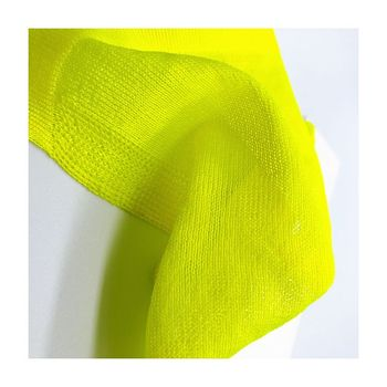Trader sale high quality recycled polyester blended yarn dope dyed glow polyester yarn for weaving
