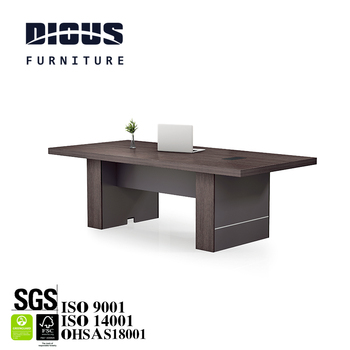 Classic wooden office+desks big thickened conference table for meeting room for 4/6/8 person meeting table