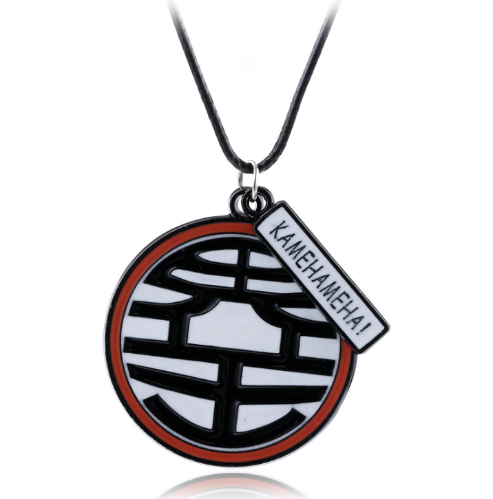 Anime Dragon Ball Z Alloy Necklace Boys Girls Crescent Pendant Accessories Gift