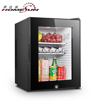 BCH-40B Hot selling mini refrigerator glass door for hotel