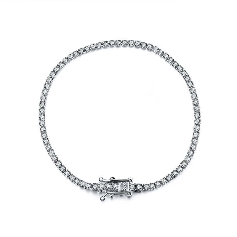 RINNTIN SB61 Fashion 2020 Jewelry 925 Sterling Silver <strong>CZ</strong> <strong>Tennis</strong> <strong>Bracelet</strong>