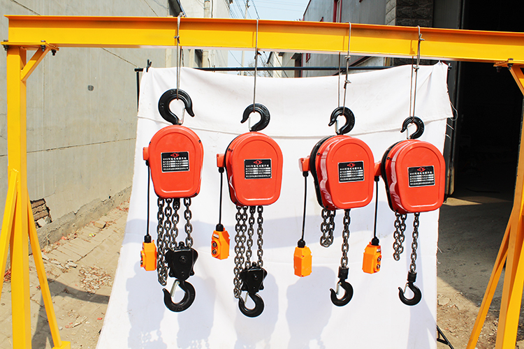 Factory sale 3 Ton DHS electric chain hoist