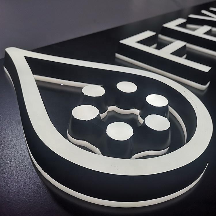 Levou Carta 3D Sinal Do Logotipo Logotipo Personalizado Levou 3D Acrílico Sinais Carta Levou Sinal Ao Ar Livre