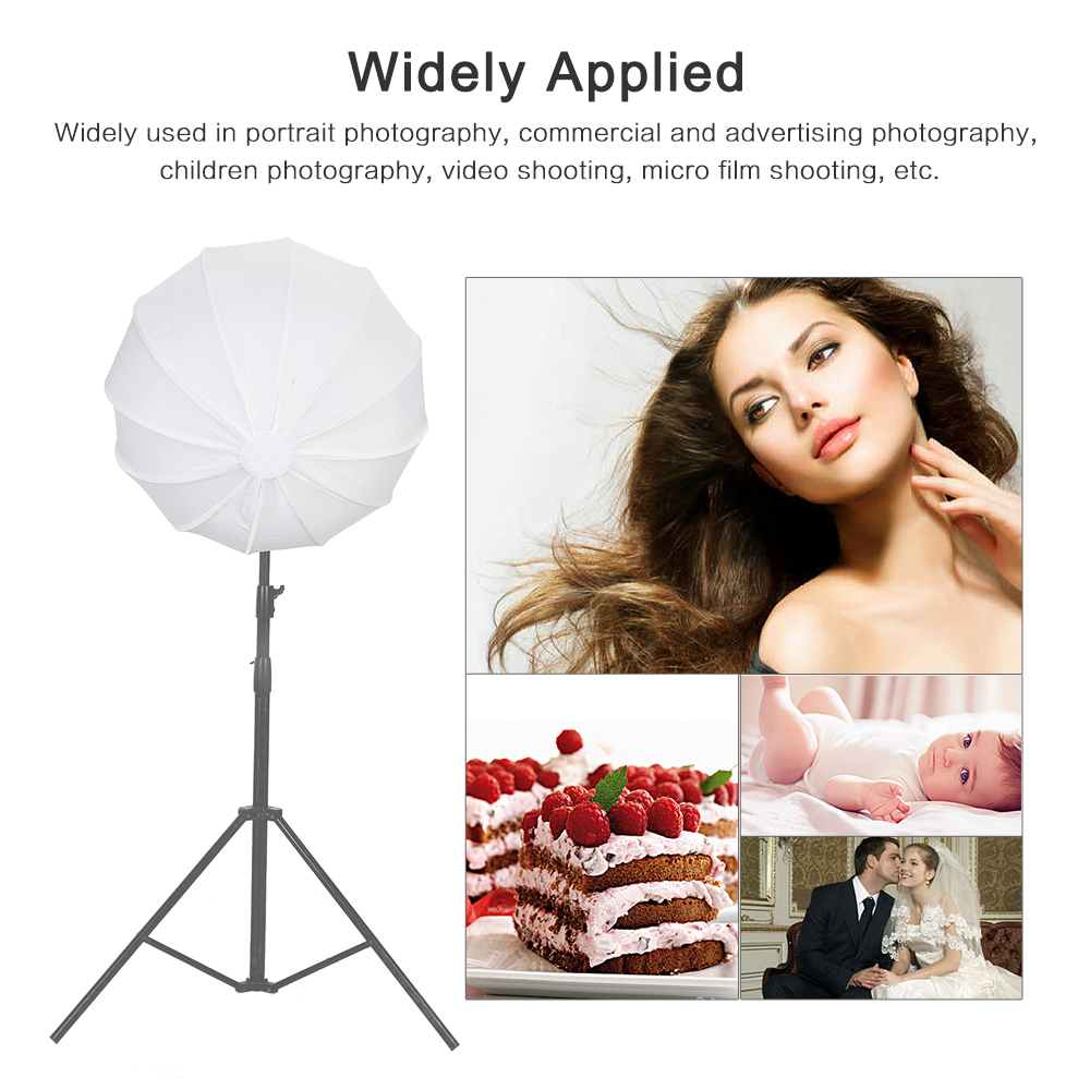 85cm Softbox Studio Lighting kit Lantern Style Foldable Soft Box for bowens Speedlite Flash Photography Accessories