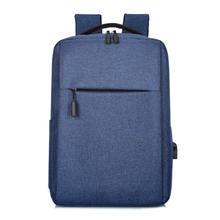 15,6-дюймовый мужской деловой рюкзак для ноутбука с usb-зарядкой для Macbook Xiaomi HP Lenovo, противокражный рюкзак для ноутбука, дорожная школьная сумка(Китай)