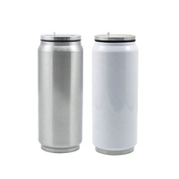 17oz/500ml DIY Personalized Logo Sublimation Blank Stainless Steel Coke Cans