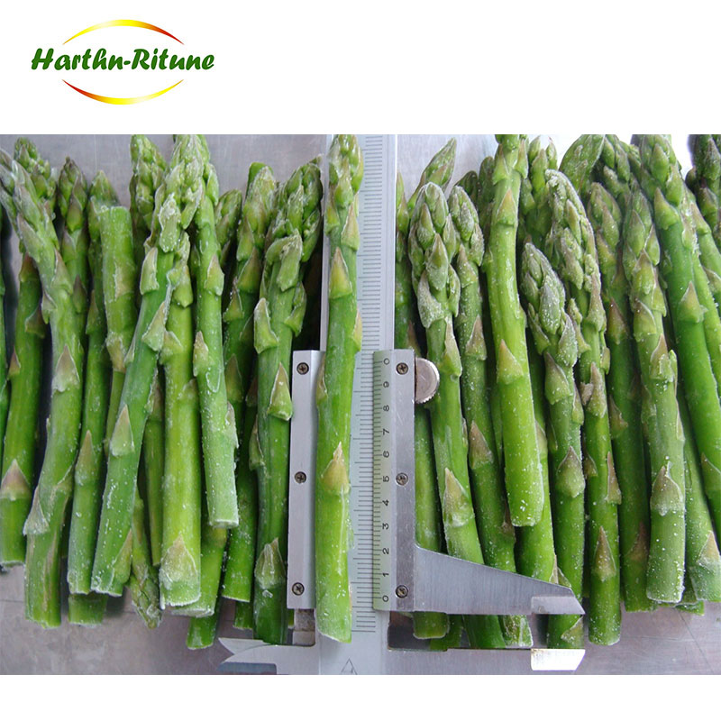 IQF bulk frozen green asparagus frozen vegetables