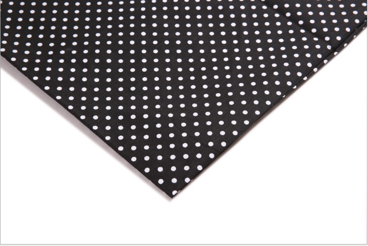 2020 hot sale New Product small dots polyester fabric printed bags and suitcases lining fabric manufacturer mass customization