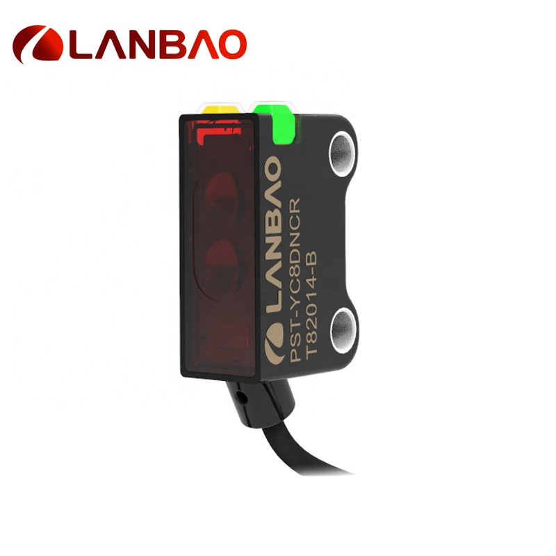Lanbao Red Light(640nm) 30vdc 250mm Sensing Sensor Phtoelectric De Distancia