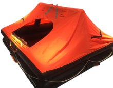 SOLAS 16 Man Life Raft Throw-Over Board Inflatable Liferafts
