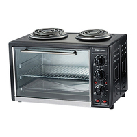 110V electric stove oven 30L toaster oven with hotplates home kitchen oven electric