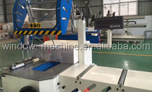 Aluminum extrusion double head cutting machine