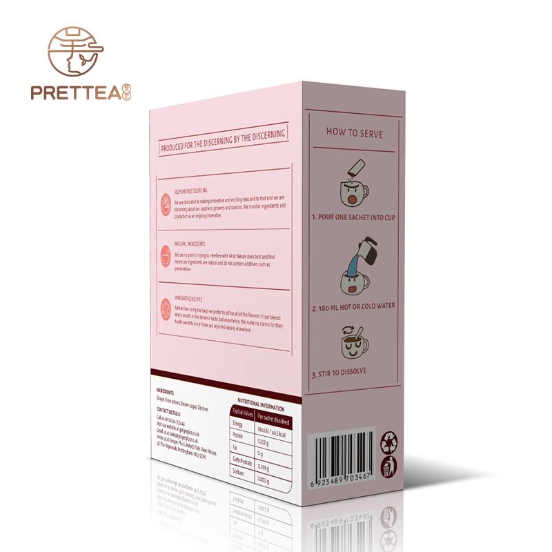 Fragrant ginger lemon tea herbal instant ginger tea premix healthy drink tea - 4uTea | 4uTea.com