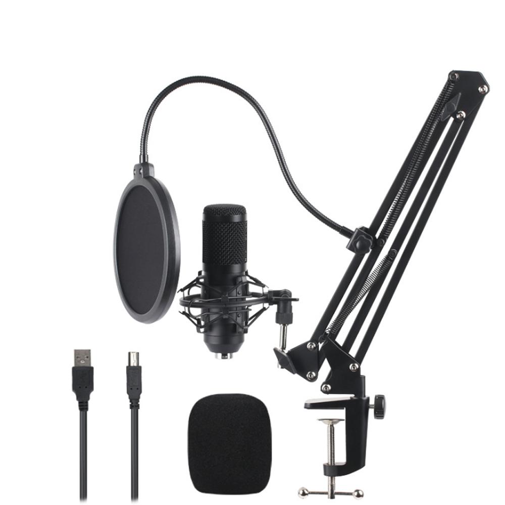 High grade sampling rate USB BM800 condenser mic usb microphone studio