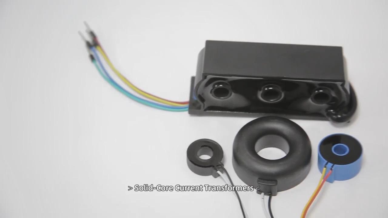 Tamaño pequeño y peso cero fase transformador de corriente ZCT para energía metros