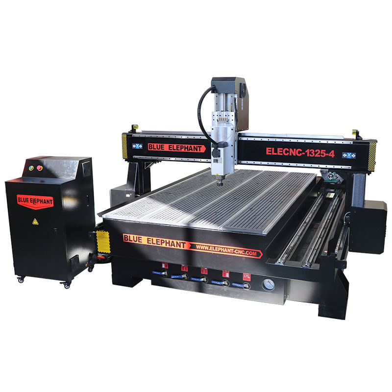 Furniture Cabinet Door Making 1325 Cnc Router Machine With Rotary