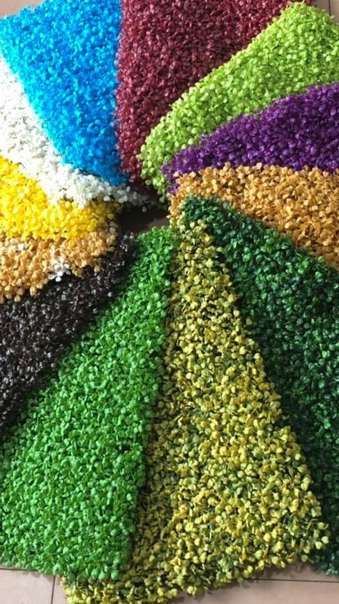 В виде зелёной стены красочный настенный художественный тканевый фон пластиковая ковыль, оптовая продажа