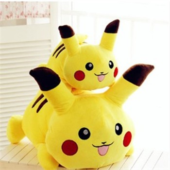 smile yellow pokemon cartoon stuff large cuddly soft toys for babies
