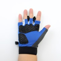 biker Riding Motorcycle Protective Cycling Sport Half Finger Gloves