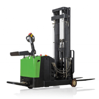 2T electric fork-lift truck electric pallet stacker for sale