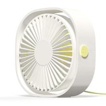 Настольный мини-вентилятор USB с 3 скоростями, персональный портативный охлаждающий вентилятор с регулируемым углом поворота 360 для офиса, до...(Китай)