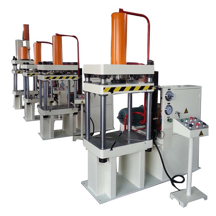 مصنع العرض مباشرة 4-أعمدة الرسم عميق الصحافة الهيدروليكية الهيدروليكية آلة التثبيت حار الصوانى الصحافة
