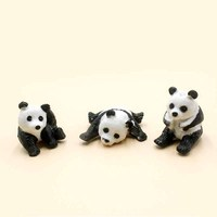 New novelty gift Little Panda vent ball action figure soft doll relax squeeze stress relief stress toys gifts for children