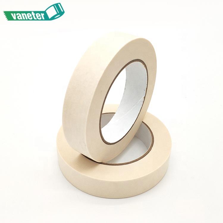 באיכות גבוהה חם למכור טמפרטורה עמיד ורך קיר הגנת צבע קרפ נייר הפשטה מיסוך דבק קלטת