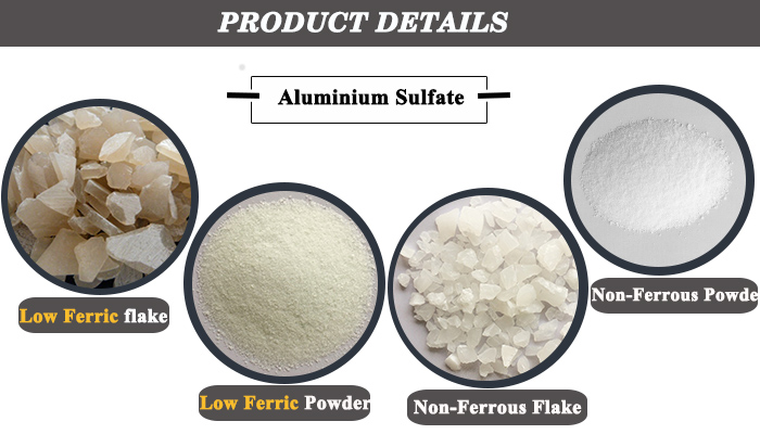 High purity aluminum sulfate aluminium sulphate 17% for watertreatment