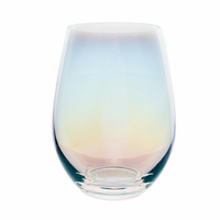 2019 New 17OZ Colored Stemless Wine Glasses welcome OEM accept logo