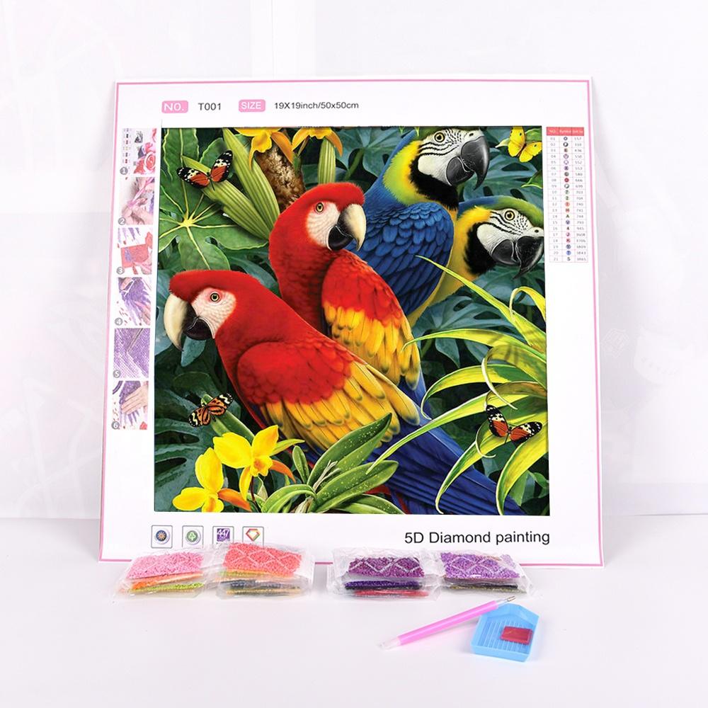 20x15 Ali Express 4D 5D Diamond Dotz Painting Butterfly Kid Set for Gift