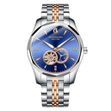 GUANQIN автоматические японские механические часы, мужские брендовые деловые роскошные мужские водонепроницаемые спортивные наручные часы и...(Китай)
