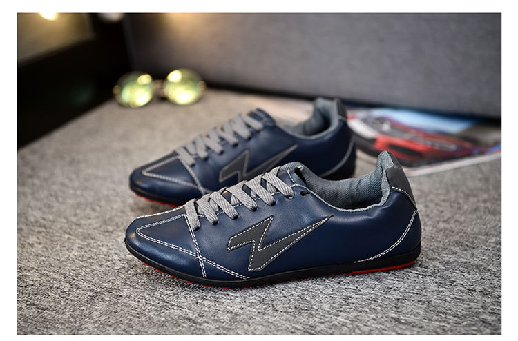 Reliable and Cheap leather fashion wholesale comfortable sneakers price sport customize running shoes